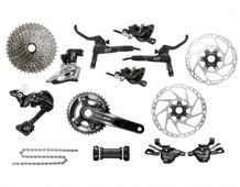 SHIMANO XT M8000 GROUPSET - 2 X 11 SPEED - INC DISC BRAKES & ROTORS